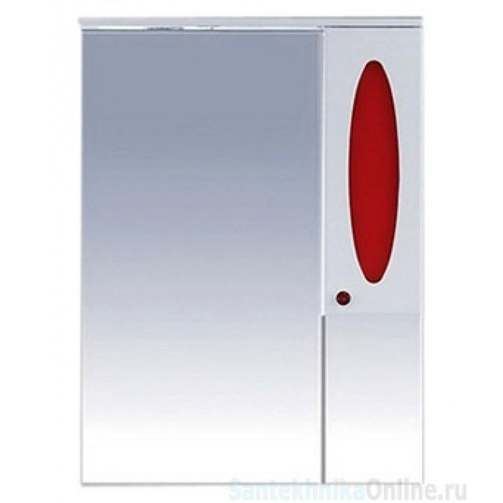Зеркало-шкаф Misty Сидней 75 R красный П-Сид02075-265СвП