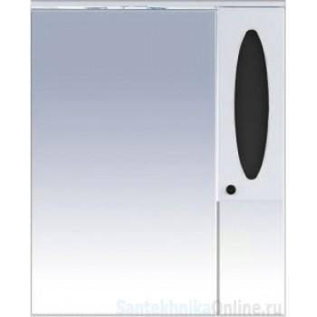 Зеркало-шкаф Misty Сидней 85 R черный П-Сид02085-235СвП