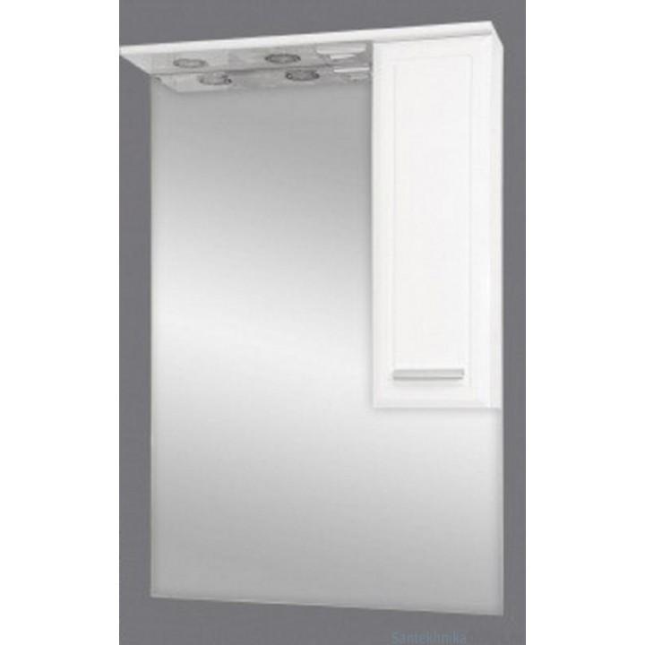 Зеркало-шкаф Misty Стелла 65 R Э-Сте02065-01СвП