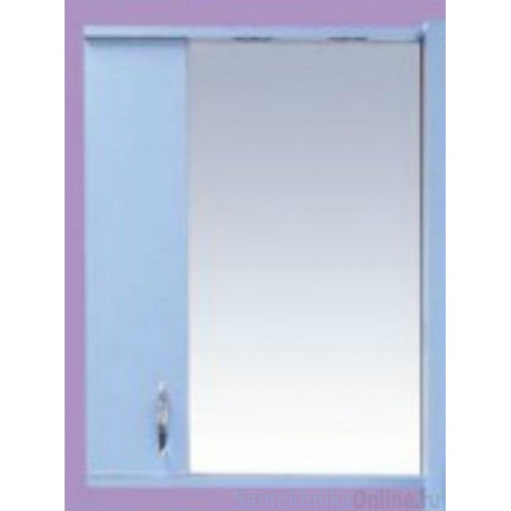 Зеркало-шкаф Misty Стиль 50 L голубой Э-Сти02050-06СвЛ