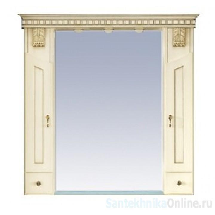 Зеркало-шкаф Misty Афина 80 Л-Афи03080-033