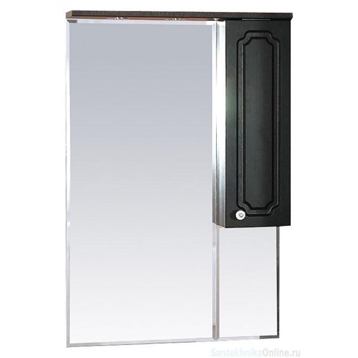 Зеркало-шкаф Misty Александра - 65 зеркало-шкаф прав. (свет) ВЕНГЕ П-Але04065-052СвП