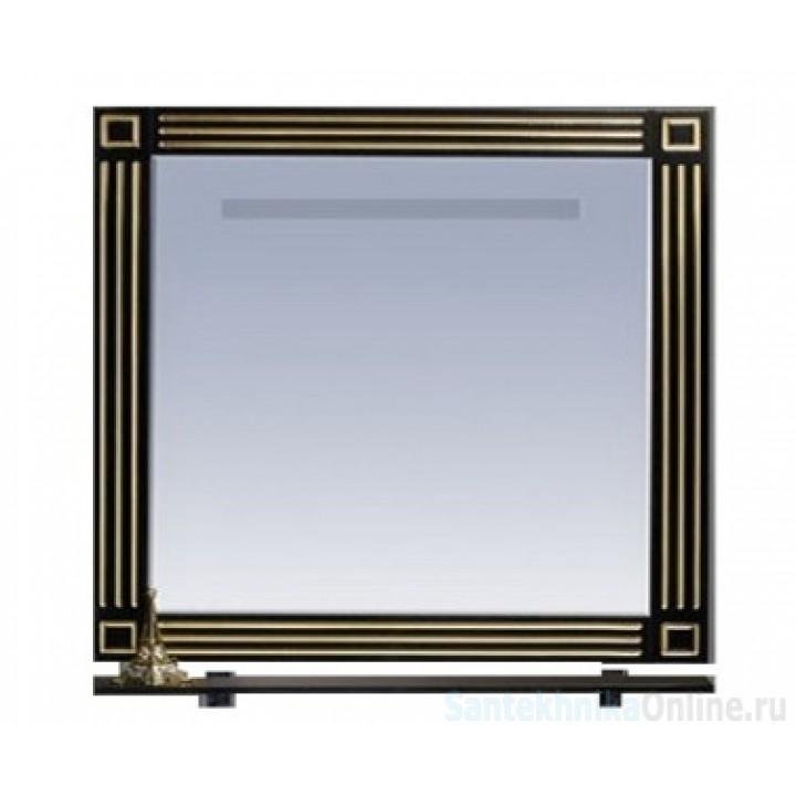 Зеркала Misty Venezia 90 черное с серебром Л-Внц03090-553