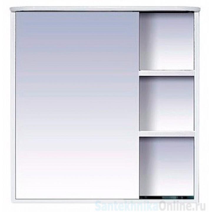 Зеркало-шкаф Misty Венера - 80 Зеркало-шкаф лев. со светом белое П-Внр04080-01СвЛ