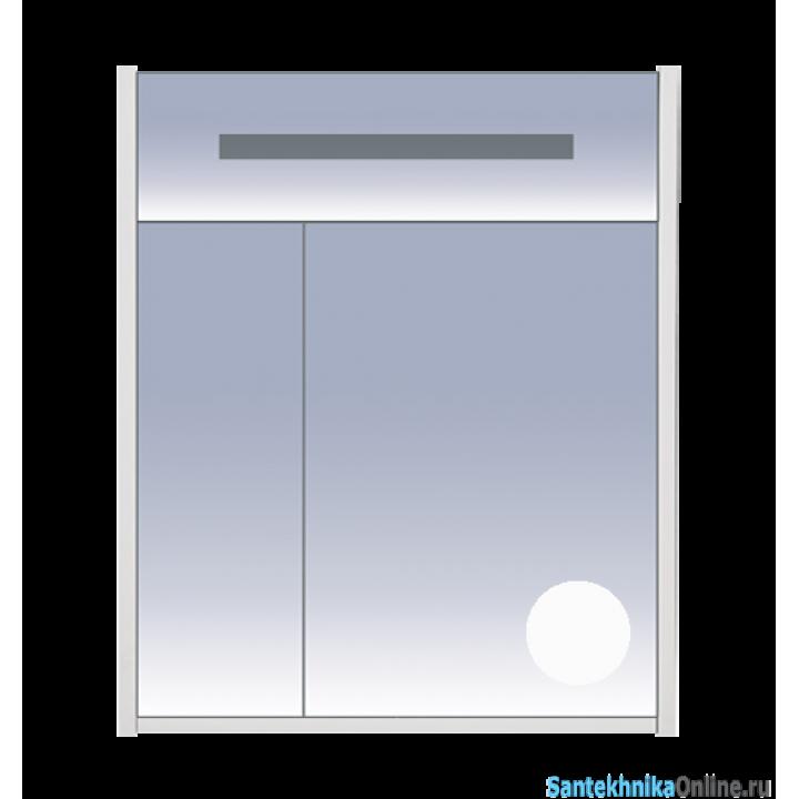 Зеркало-шкаф Misty Джулия 65 белый Л-Джу04065-5210