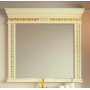 Зеркала Misty Мануэлла GOLD 120 бежевое глянец Л-Ман02120-3818Св