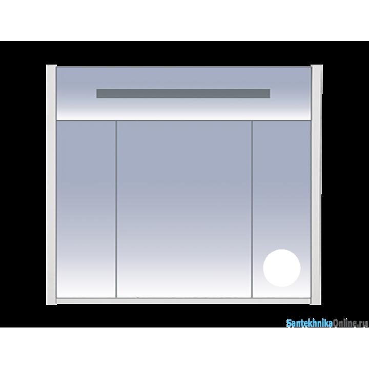 Зеркало-шкаф Misty Джулия 90 белый Л-Джу04090-0110