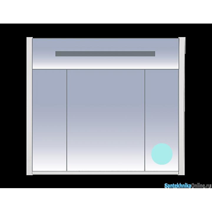 Зеркало-шкаф Misty Джулия 90 голубой Л-Джу04090-0610