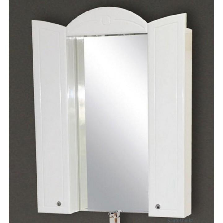 Зеркало-шкаф Misty Илона 80 П-Ило02080-011Св