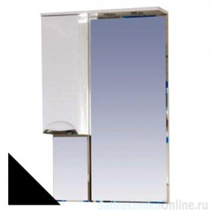 Зеркало-шкаф Misty Жасмин 65 L черный П-Жас02065-021СвЛ