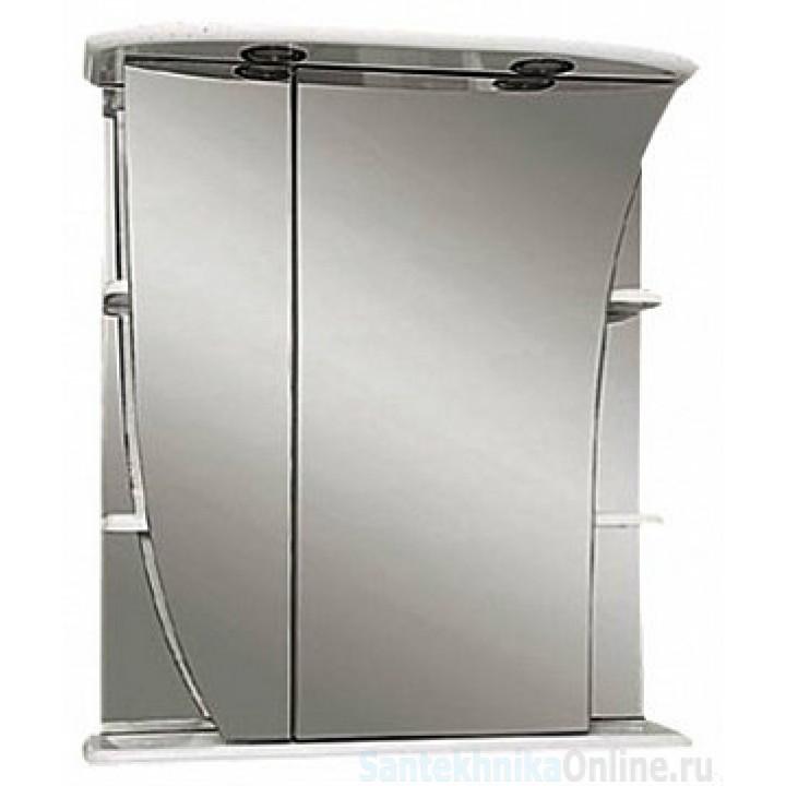 Зеркало-шкаф Misty Ладья 65 L Э-Лад02065-01СвЛ