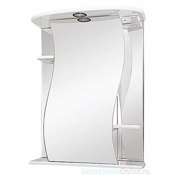 Зеркало-шкаф Misty Лиана - 55 Зеркало - шкаф лев. (свет) Э-Лиа02055-01СвЛ