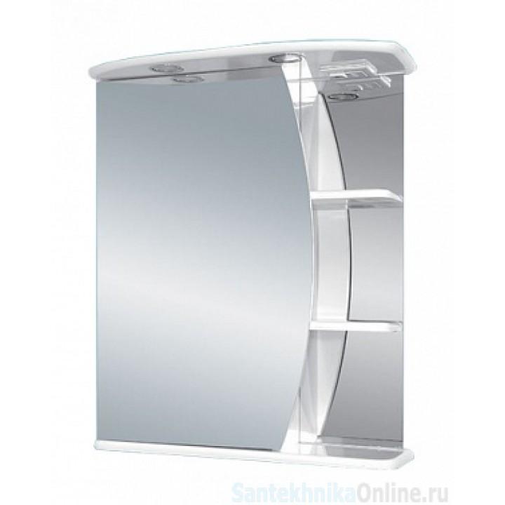 Зеркало-шкаф Misty Луна - 55 Зеркало - шкаф лев. (свет) Э-Лун02055-01СвЛ