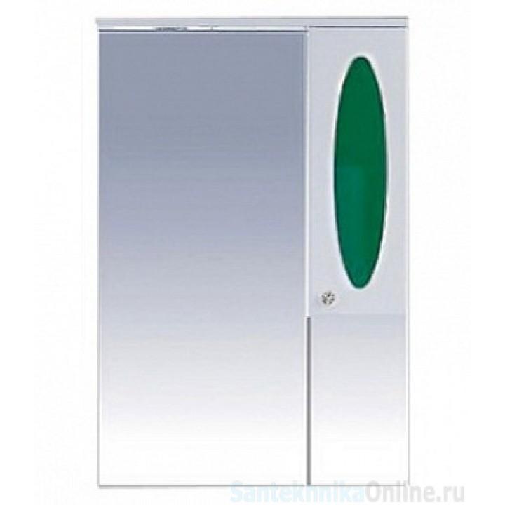 Зеркало-шкаф Misty Сидней 65 R зеленый П-Сид02065-285СвП