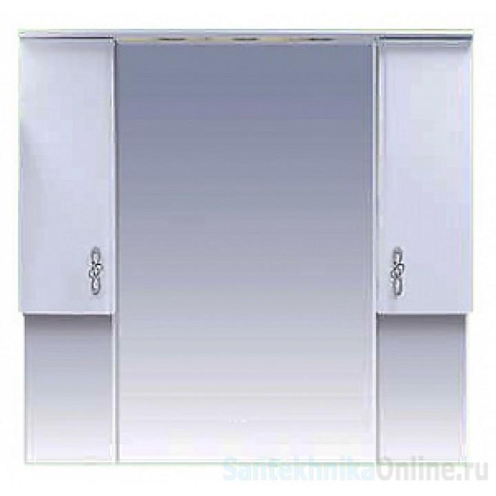 Зеркало-шкаф Misty Сицилия 105 П-Сиц04105-011Св