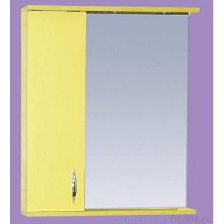 Зеркало-шкаф Misty Стиль 50 L желтый Э-Сти02050-48СвЛ