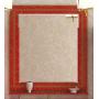 Зеркала Misty Fresko 90 краколет красный патина Л-Фре03090-0417