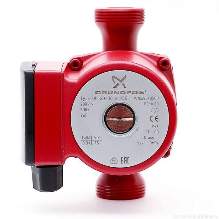 Насос циркуляционный для системы ГВС Grundfos UP 20-30 N 150 (59643500)