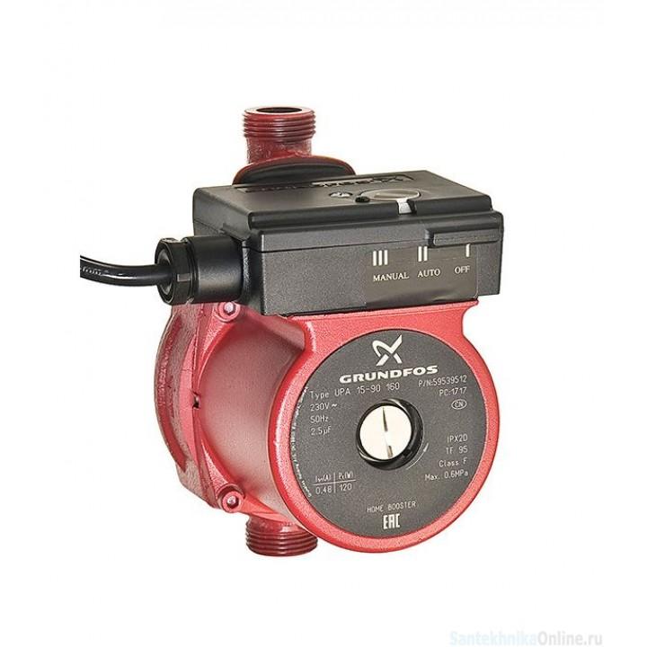 Насос циркуляционный для систем водоснабжения Grundfos UPA 15-90 180 (59539512)