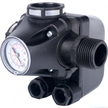 Реле давления для водоснабжения со встроенным манометром PM5-3W, 1-5 бар