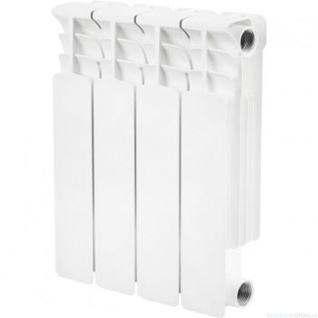 STOUT Space 350 4 секции Радиатор биметаллический боковое подключение