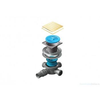 Сливной трап Pestan Confluo Standard Drops 3 Gold 13000150