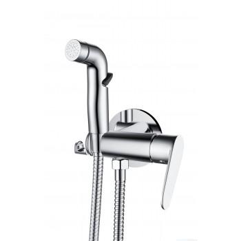 Смеситель для душа D&K Rhein.Marx с гигиеническим душем встраиваемый DA1394581