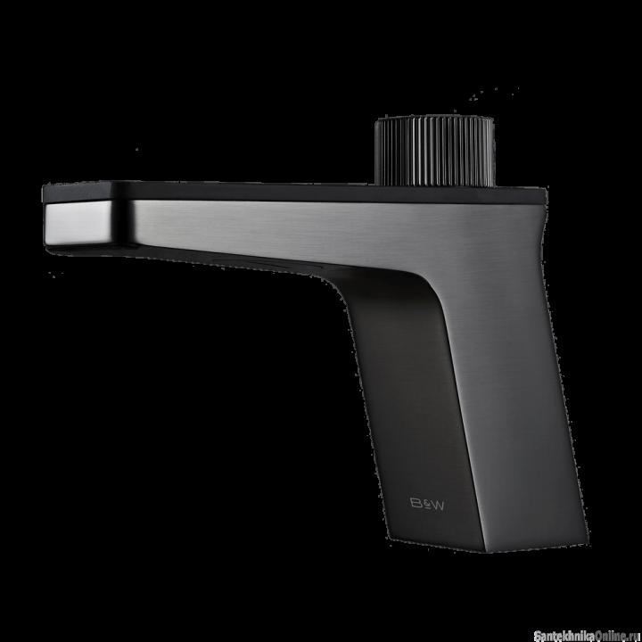 Смеситель для раковины Black&White U7510 Темно-серый