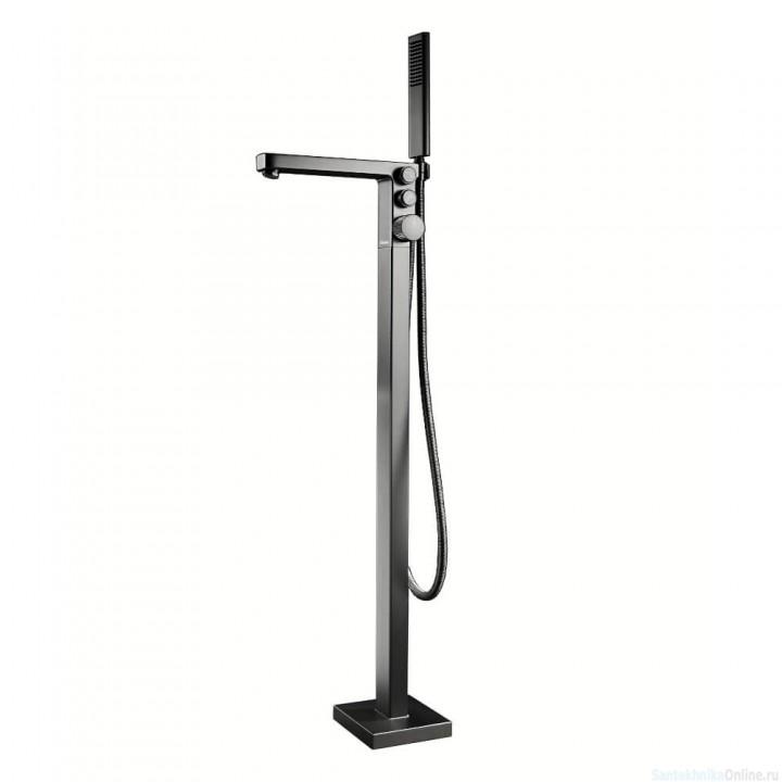 Смеситель для ванны Black&White U6982 Темно-серый