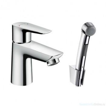 Смеситель с гигиеническим душем Hansgrohe Talis E 71729000