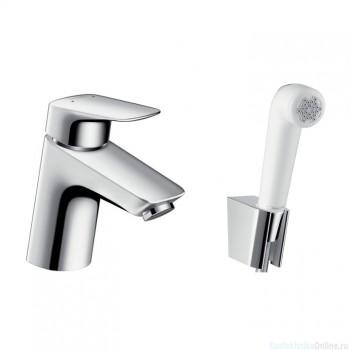 Смеситель с гигиеническим душем Hansgrohe Logis 71290000