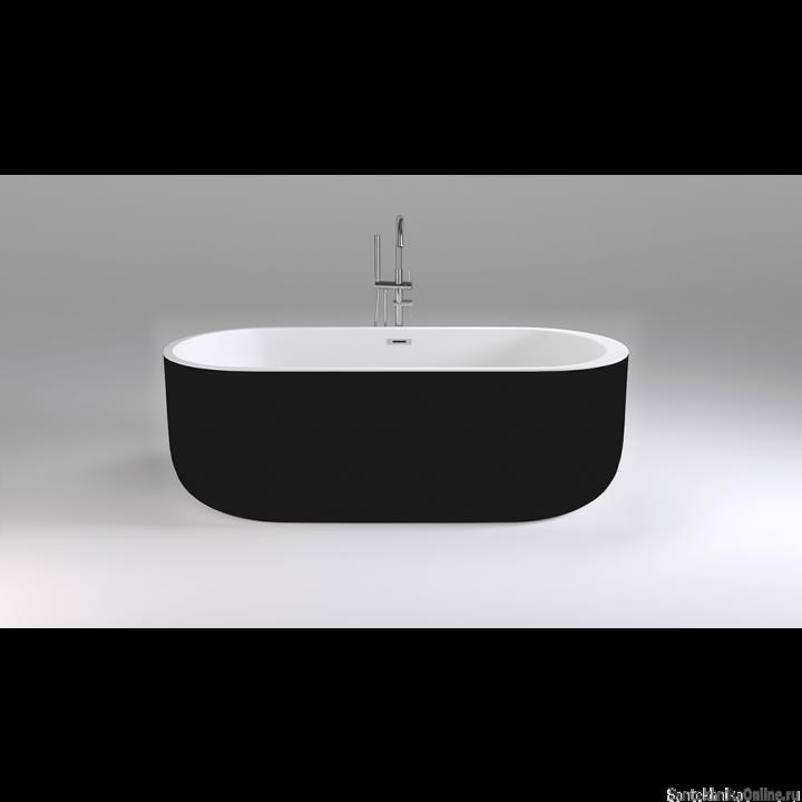 Акриловая ванна Black&White SB 109 Black