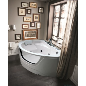 Акриловая ванна Black&White GB5008 L