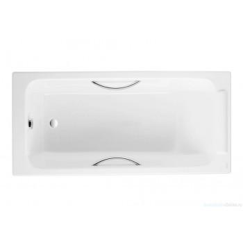 Чугунная ванна Jacob Delafon Parallel 150х70 E2949-00 (с отверстиями для ручек)