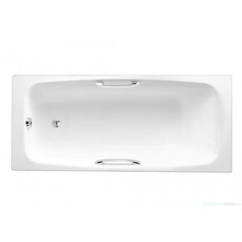 Чугунная ванна Jacob Delafon Diapason 170х75 E2926-00 (с отверстиями для ручек)