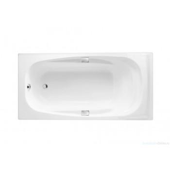 Чугунная ванна Jacob Delafon Super Repos 180х90 E2902-00 (с отверстиями для ручек)