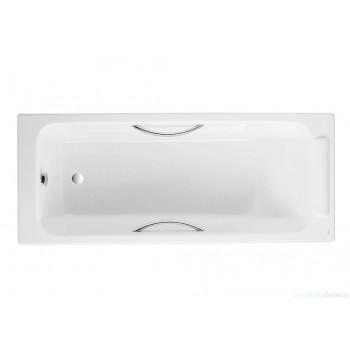 Чугунная ванна Jacob Delafon Parallel 170х70 E2948-00 (с отверстиями для ручек)
