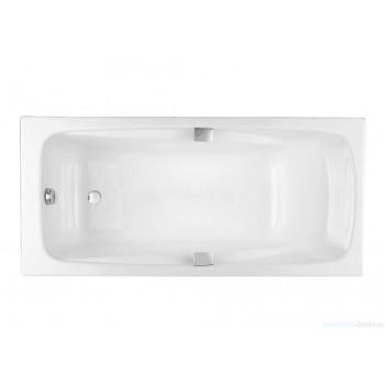 Чугунная ванна Jacob Delafon Repos 170х80 E2915-00 (с отверстиями для ручек)