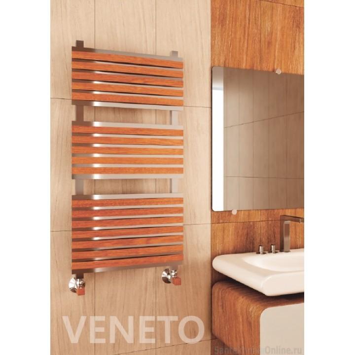 Полотенцесушитель водяной Benetto Венето 30*30/30*10 П32 10-8-6-6 дер.накл.28шт сапеле