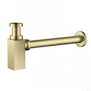 Сифон для раковины Timo 959/17L золото матовое