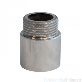 Удлинительная гайка 1/2х 30 мм, хром, Sobime