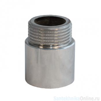 """Удлинительная гайка 1"""" х 20 мм, никель, Sobime"""