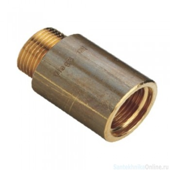 "Удлинитель 1"" х 80 мм, бронза, Viega"